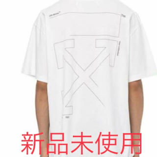 OFF-WHITE - off-white  UNFINISHED  ロゴTシャツ オフホワイト