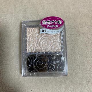 セザンヌケショウヒン(CEZANNE(セザンヌ化粧品))のセザンヌ パールグロウハイライト 01 シャンパンゴールド(フェイスパウダー)