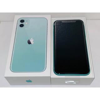 ★ iPhone 11 128GB グリーン 新品未使用 SIMフリー ★(スマートフォン本体)