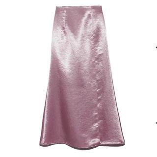 snidel - ロングスカート サテンスカート   美品 snidel サテンロングスカート