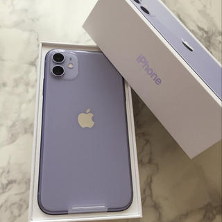 ★ iPhone 11 128GB パープル 新品未使用 SIMフリー ★(スマートフォン本体)