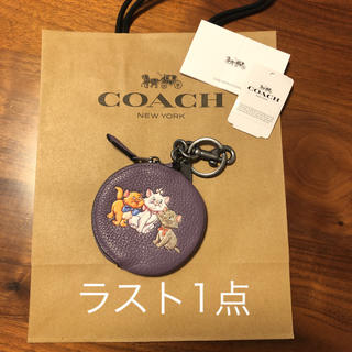 COACH - コーチ ディズニー マリーちゃん コインケース