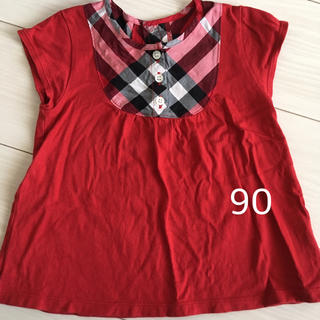 BURBERRY - 90 バーバリー ロンドン BurberryLondon 半袖 Tシャツ 女の子