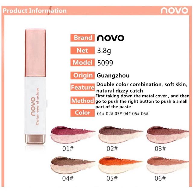 novo  アイシャドウ コスメ/美容のベースメイク/化粧品(アイシャドウ)の商品写真