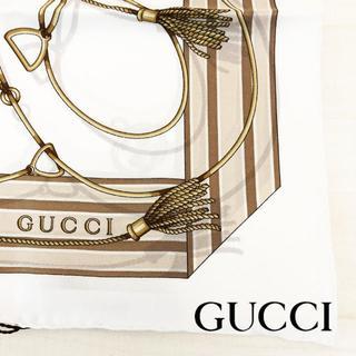 グッチ(Gucci)の日本未入荷 未使用 グッチ スカーフ 70cm(バンダナ/スカーフ)