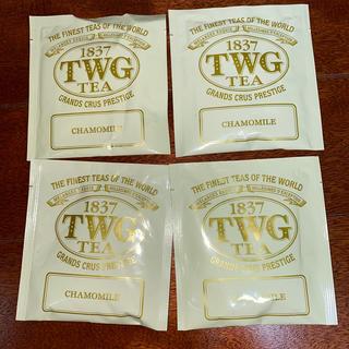 アフタヌーンティー(AfternoonTea)の高級紅茶 TWG カモミールティー 4袋 ☆最安値☆(茶)