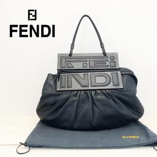 フェンディ(FENDI)のヴィンテージ 極美品 フェンディ ショルダー ナッパレザー(ショルダーバッグ)