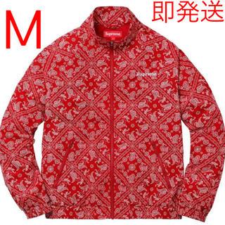 Supreme - supreme bandana track jacket バンダナ アウター Ꮇ