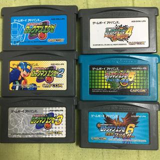 ゲームボーイアドバンス(ゲームボーイアドバンス)のロックマンエグゼ1-6まとめ売り(携帯用ゲームソフト)