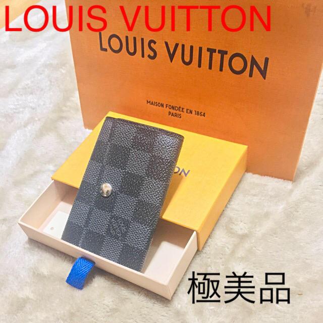 腕 時計 金 黒 偽物 、 LOUIS VUITTON - 極美品⭐正規品⭐ルイヴィトン キーケース ミュルティクレ6の通販