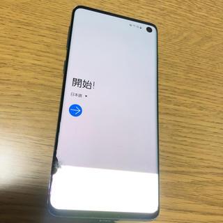 Galaxy - Galaxy S10  128 GB  simフリー ギャラクシー