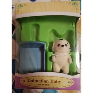 エポック(EPOCH)の専用ダルメシアンの赤ちゃんとヒツジの赤ちゃん(ぬいぐるみ/人形)
