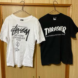 STUSSY - THRASHER STUSSY Tシャツ