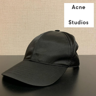 アクネ(ACNE)のAcne studios cap black(キャップ)