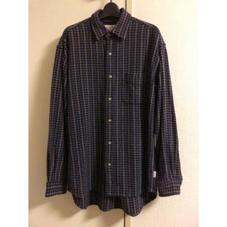 ジェイクルー(J.Crew)の【古着】J.CREW ビッグシャツ ネルシャツ チェック(シャツ)