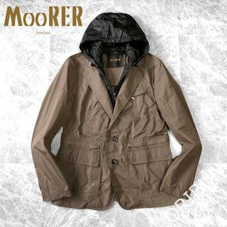 BEAMS - MooRER / GHIBERTI KM HOODED ムーレー ジャケット