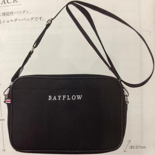 ベイフロー(BAYFLOW)のベイフロー ベイフロウ ローソン ショルダー バック 黒 バッグ(ショルダーバッグ)