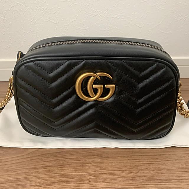 Gucci - GUCCI GGマーモント ソーホー ショルダーバッグの通販