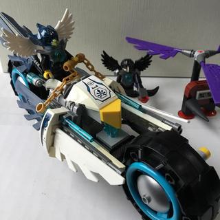 レゴ(Lego)のレゴ (LEGO) チーマ エグローのツインバイク 70007 (キャラクターグッズ)