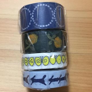 mina perhonen - ミナペルホネン  マスキングテープ 4個