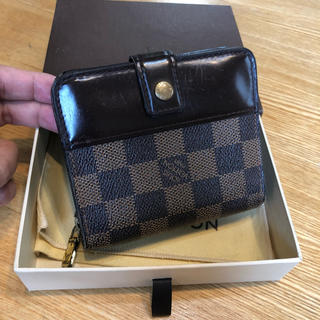 LOUIS VUITTON - 正規品 ルイヴィトン ダミエ 折財布