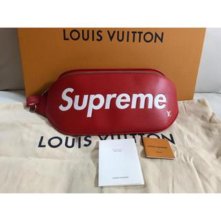 LOUIS VUITTON - 【超希少品】Louis Vuitton×supreme バムバッグ 新品未使用