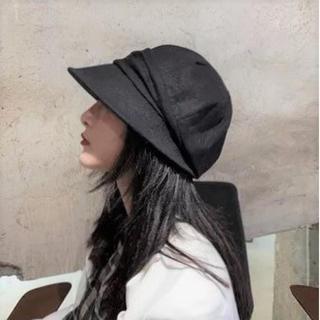 ★大人気★ つば長 キャスケット UVカット レディース 帽子