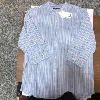 アベイル(Avail)の七分丈リネンシャツ 新品 サイズLL(シャツ)