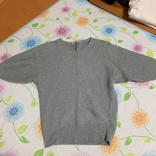 BEAMS - ビームスハート(BEAMS HEART)ニット・セーター グレー色