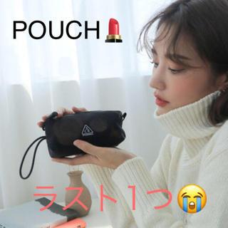 スタイルナンダ(STYLENANDA)のラス1!韓国 スタイルナンダ 3CE MESHPOCKETPOUCH 黒 ポーチ(ポーチ)