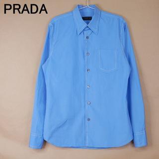 PRADA - メンズ PRADA プラダ 39 15 1/2 青系 長袖シャツ