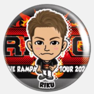 THE RAMPAGE - RIKU 75mm 缶バッジ
