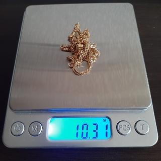 美品 喜平 6面ダブル 18金 k18 45cm 約10g