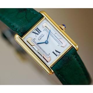 Cartier - 美品 カルティエ マスト タンク スリーカラーゴールド LM Cartier