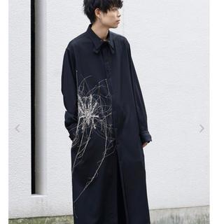 Yohji Yamamoto - ヨウジヤマモト 19aw タランチュラ刺繍ロングブラウス