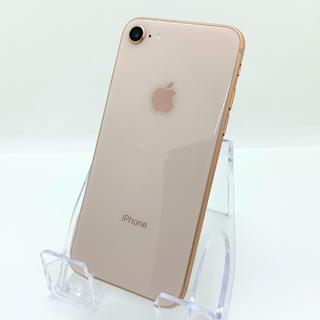 iPhone - 【バッテリー新品】SIMフリー☆iPhone8 64GB ゴールド
