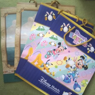 Disney - ディズニーホテル 紙袋 4枚セット