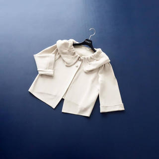 René - ■Rene■ 36 ニットジャケット フラワーボタン ルネ