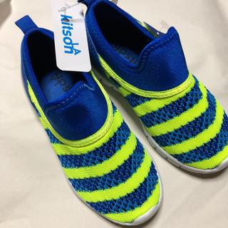 KITSON - 新品17センチ キットソン メッシュスリッポン靴