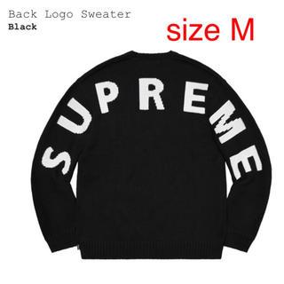 Supreme - supreme logo swater セーター M 新品未使用