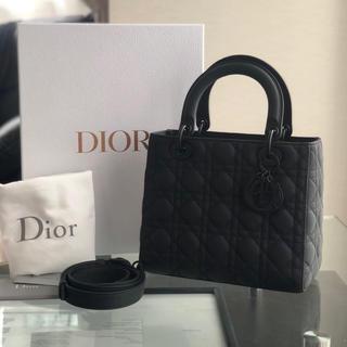 Dior - 中古品 ladydior マットブラック