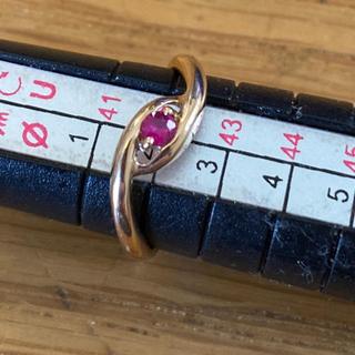 k18 ルビーリング(リング(指輪))