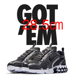 ナイキ(NIKE)のNIKE AIR ZOOM SPIRIDON CAGE 2 / BLACK (スニーカー)