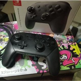 ニンテンドースイッチ(Nintendo Switch)のNintendo Switch スプラトューン2セット(家庭用ゲーム機本体)