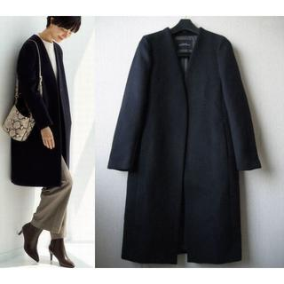 green label relaxing - 19AW green label relaxing ノーカラーコート サイズ34