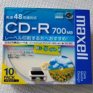 maxell - CD-R 700MB 10枚入り 新品