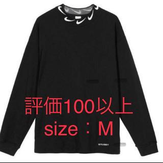 NIKE - nike stussy long sleeve knit top  size:M