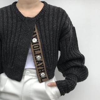 ホリデイ(holiday)のHOLIDAY★mix knit cardigan (カーディガン)