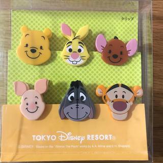 Disney - ディズニーランド クリップセット(6こ入り)