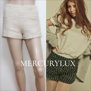 MERCURYDUO - MERCURY DUO ツイードショートパンツ*snidel deicy ミーア